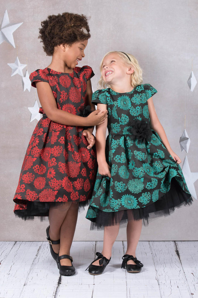 7555836a1 ... Little Girl Dresses • New Product • Pretty Dresses • red dress · The  Holiday Dress You've Been Waiting ...