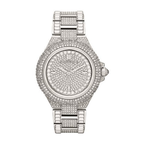 Michael Kors Women's MK5869 Camille Crystal Stainless Steel Watch