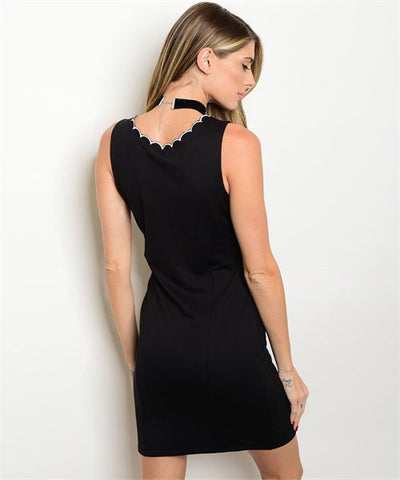 Women's Black Cocktail Dress  FashionIsUs.com