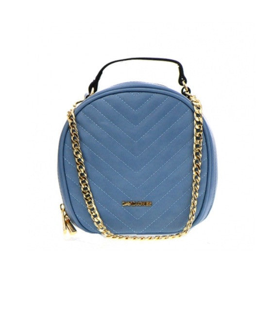 Women's Handbag Turquoise Round Shaped By David Jones FashionIsUs.com