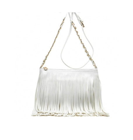 Women's Handbag Fringe Leather And Crossbody FashionIsUs.com