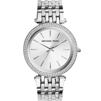 Michael Kors Women's Darci Pavé Stainless Steel Bracelet Watch 39mm MK3190
