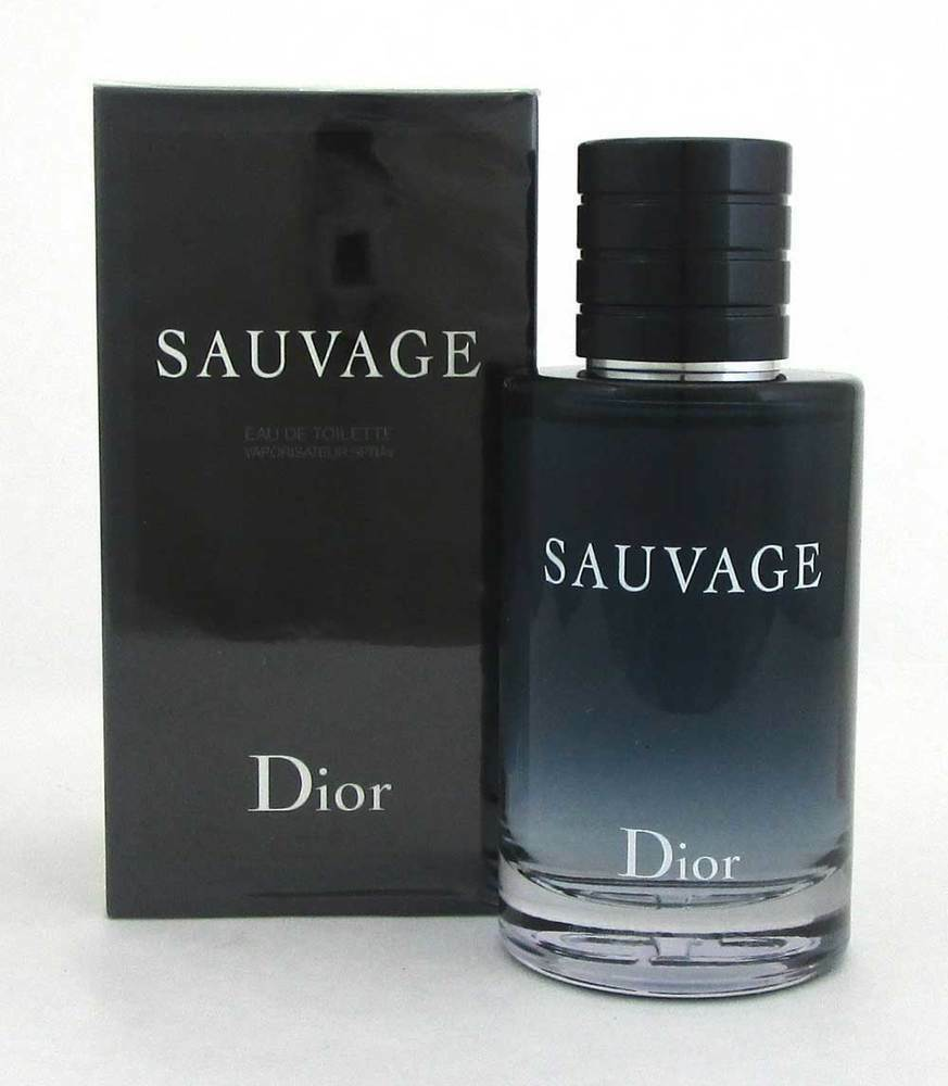 SAUVAGE by Christian Dior 3.4oz / 100ml Eau De Toilette Spray Cologne