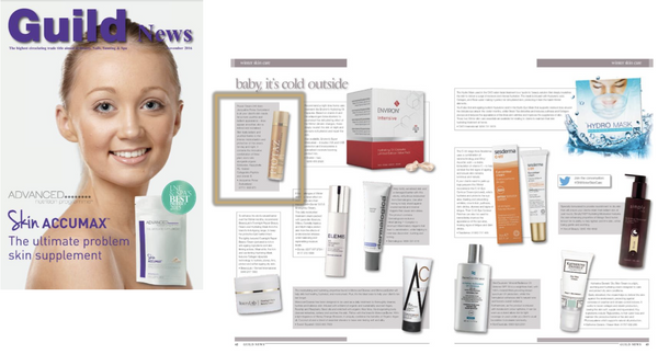 Power Cream 24h featured in GUILD MAGAZINE-Jacqueline Piotaz Switzerland