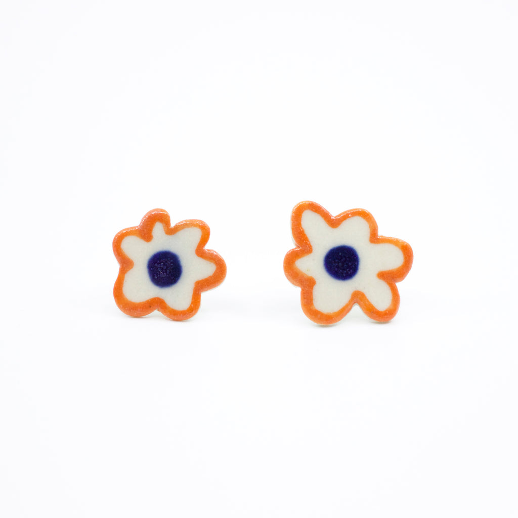 Flower Lovers collaboration earrings