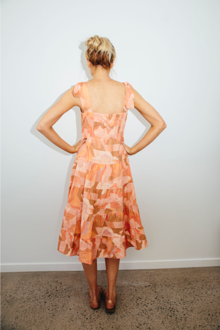 Wide Open Spaces cupcake dress