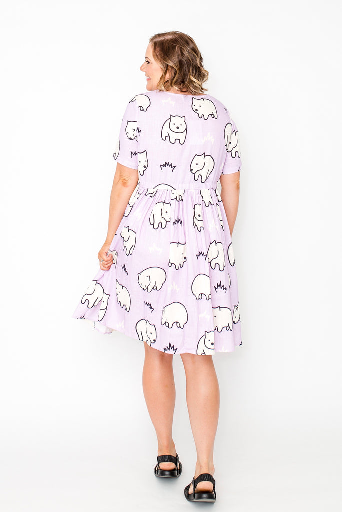 Wombie beach dress