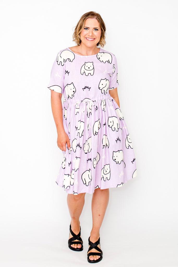 PRE-ORDER Wombie beach dress
