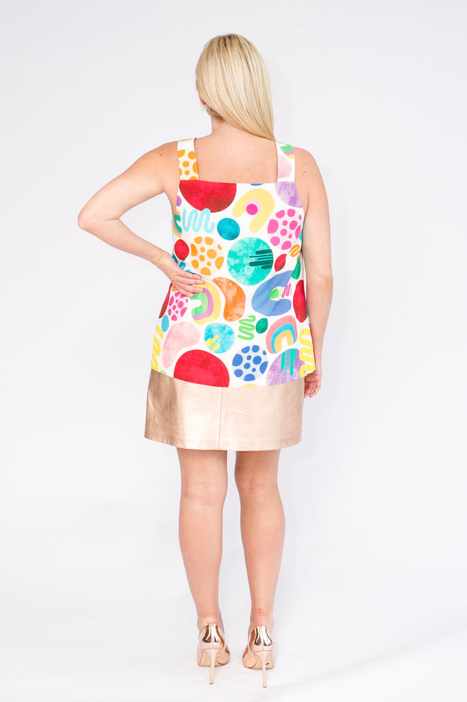 Raining Rainbows singlet top