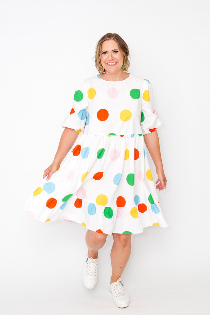 Spot On baby doll dress