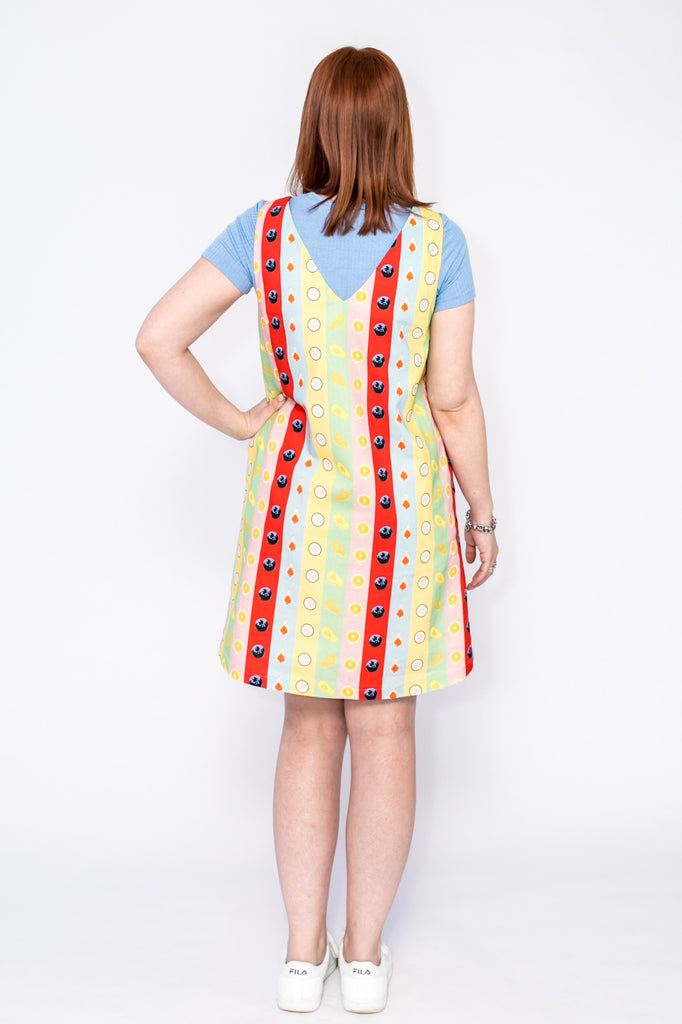 Rainbow Fruit shift dress