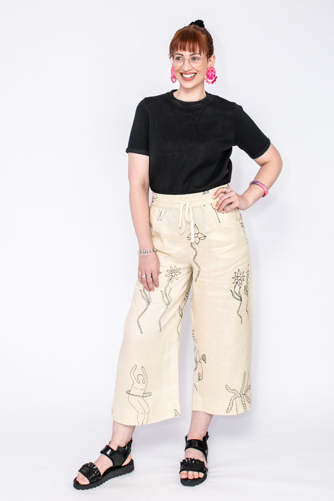 Lemon Lines pants