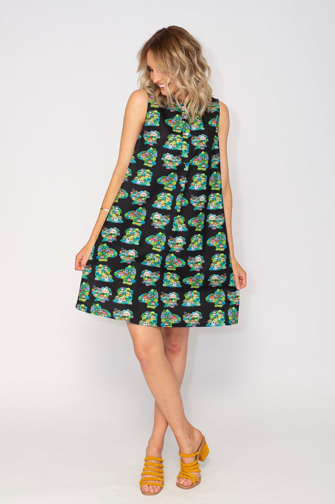 Summer Confetti sleeveless dress