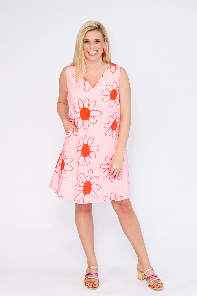 Daisy Daze shift dress