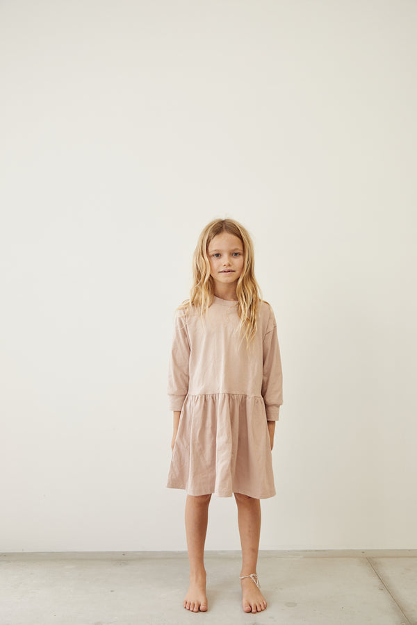 The Basic Oversize Dress - Sand