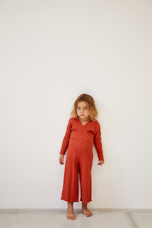 The Weekender Pantsuit - Red