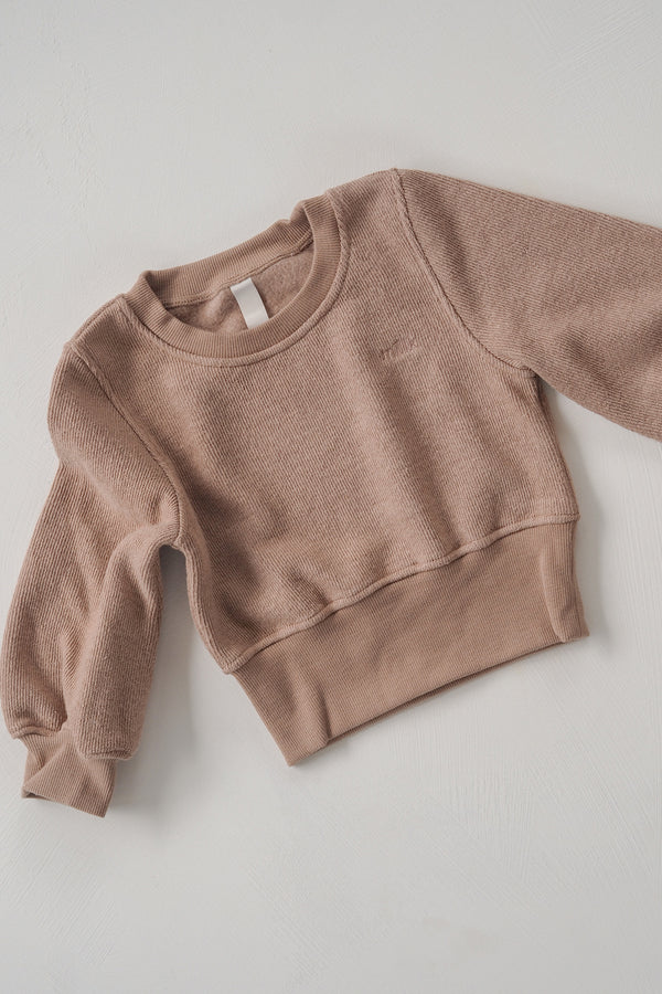 The Comfort Pullover - Husk
