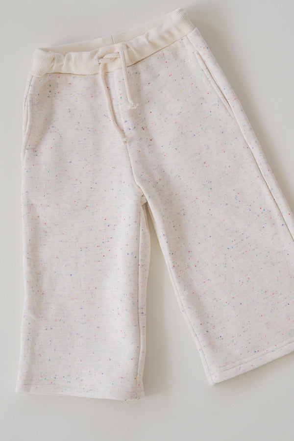 The Comfort Pant - Cream Sprinkle