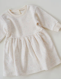 The Comfort Dress - Cream Sprinkle