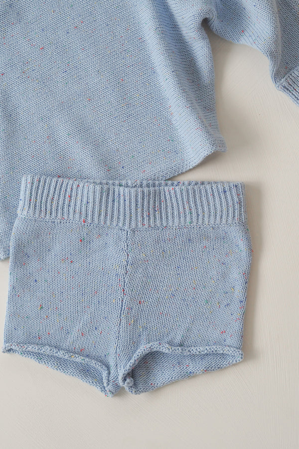 The sky sprinkle knit shortie