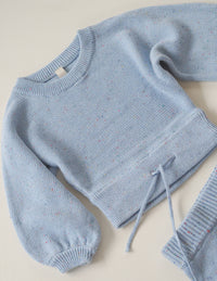 The sky sprinkle knit pullover
