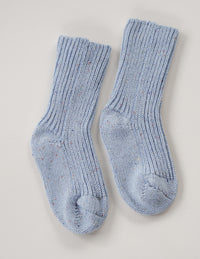 The sky sprinkle knit sock