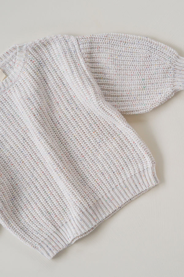 The Chunky Sprinkle Knit Jumper