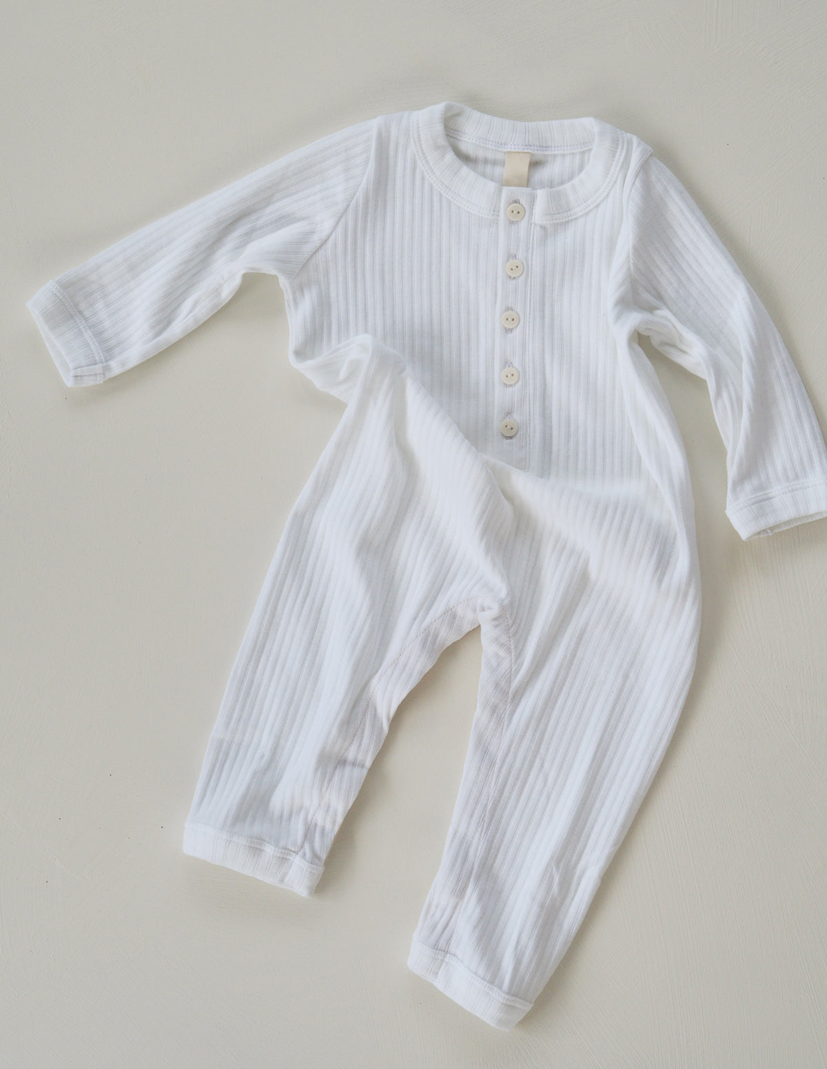 The Base All In Onesie - White