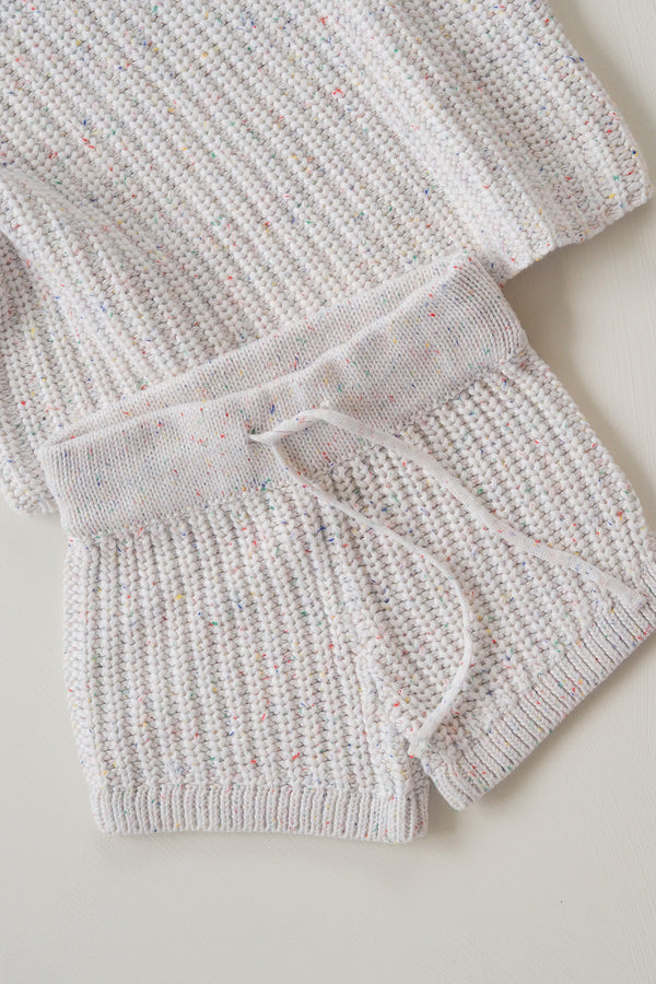 The Chunky Sprinkle Knit Shortie