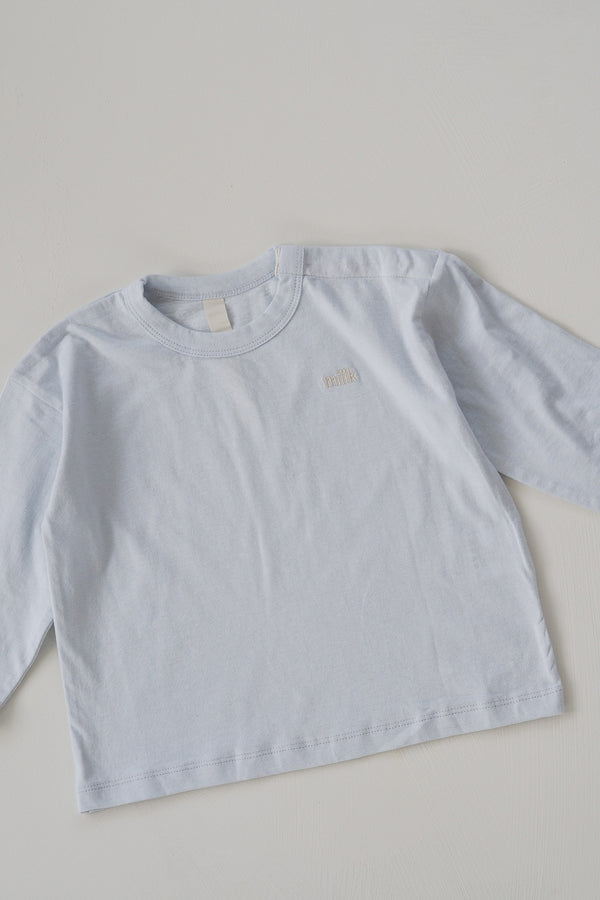 The Original Long Sleeve Top - Powder Blue