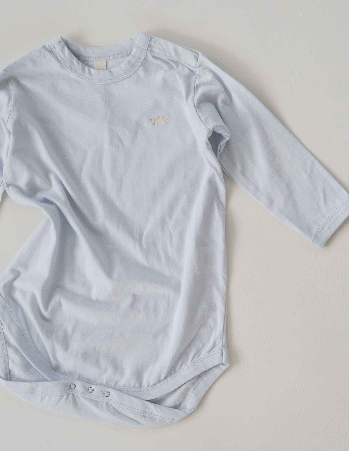 The Original Long Sleeve Onesie - Powder Blue