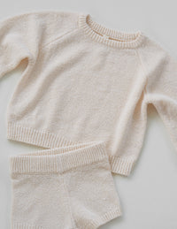 The Golden Knit Jumper - Cream