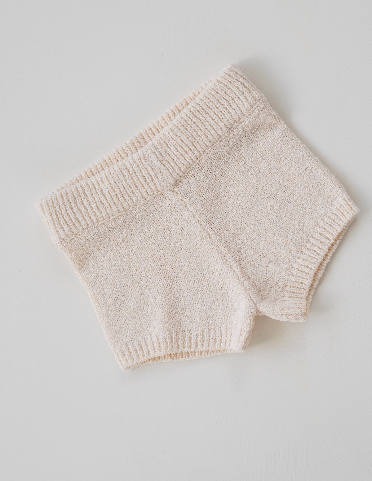 The Golden Knit Shortie - Cream