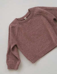 The Golden Knit Jumper - Earth