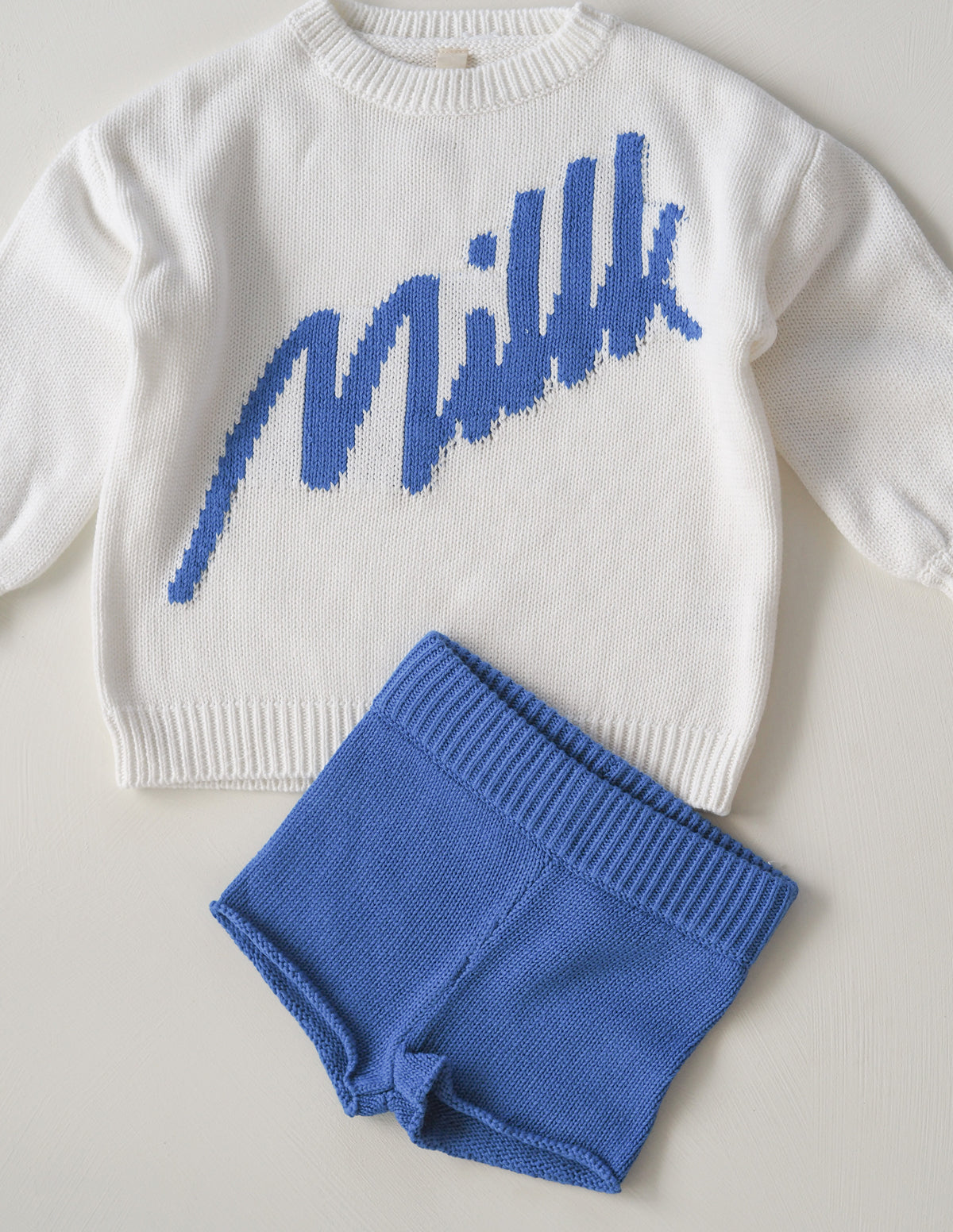 The Millk Short - Blue