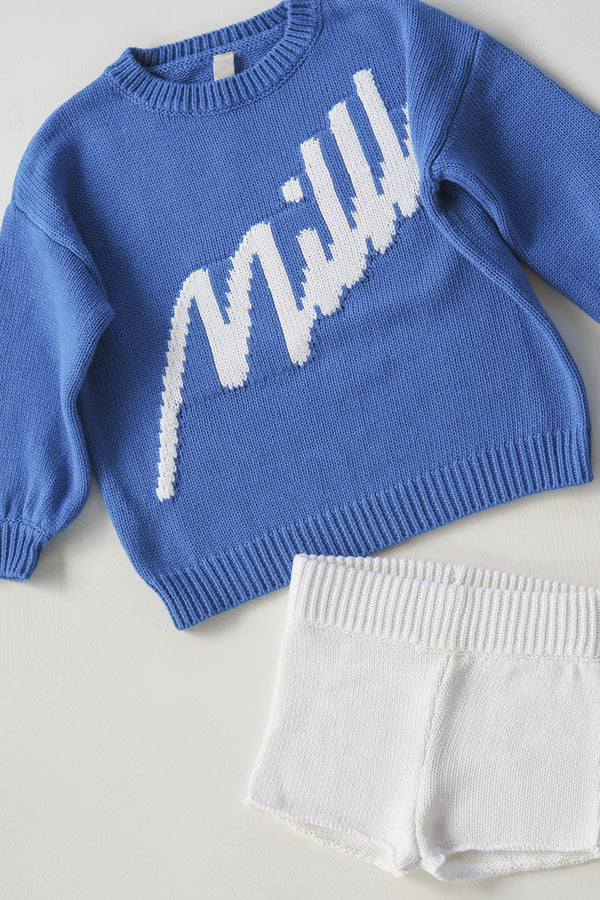 The Millk Jumper - Blue