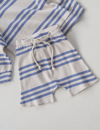 The Extraordinary Short - Blue Stripe