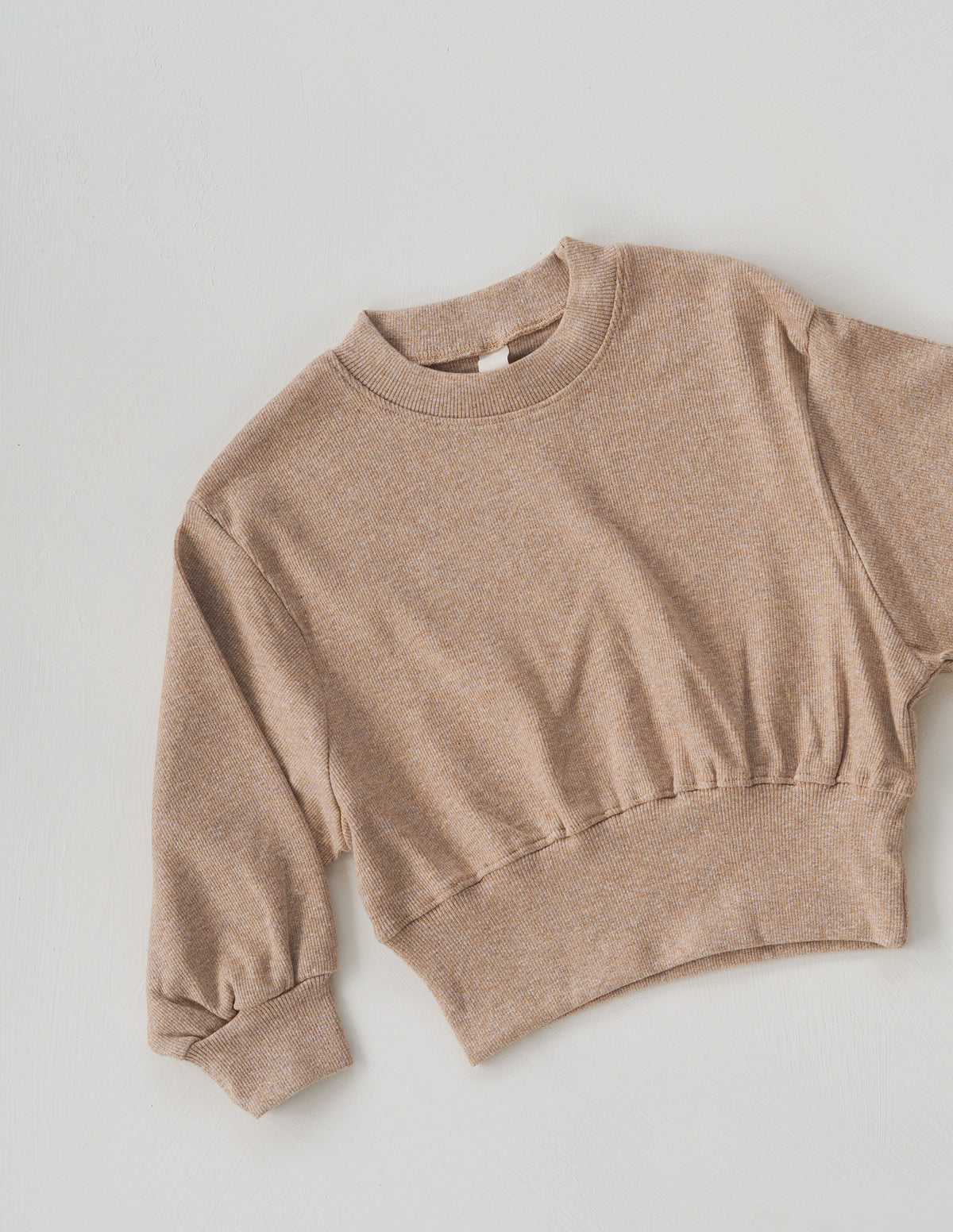The Lounge Pullover - Tan Marle