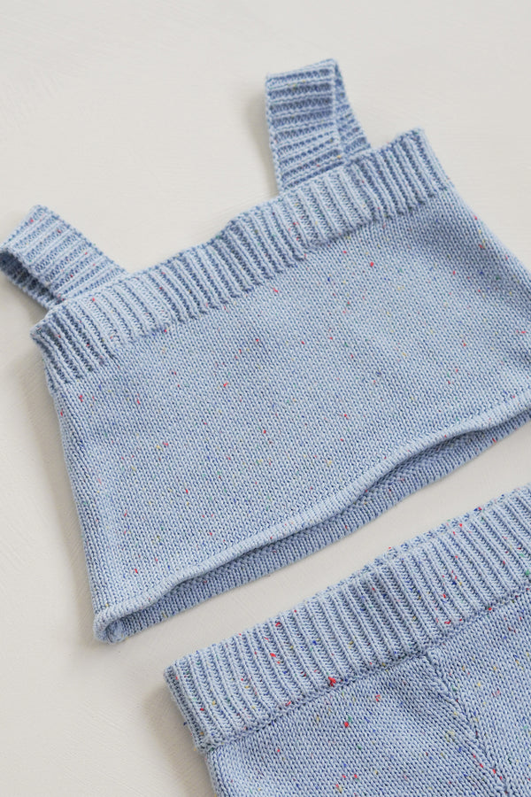 The Sky Sprinkle Knit Singlet