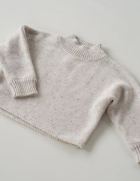 The original cream sprinkle knit jumper