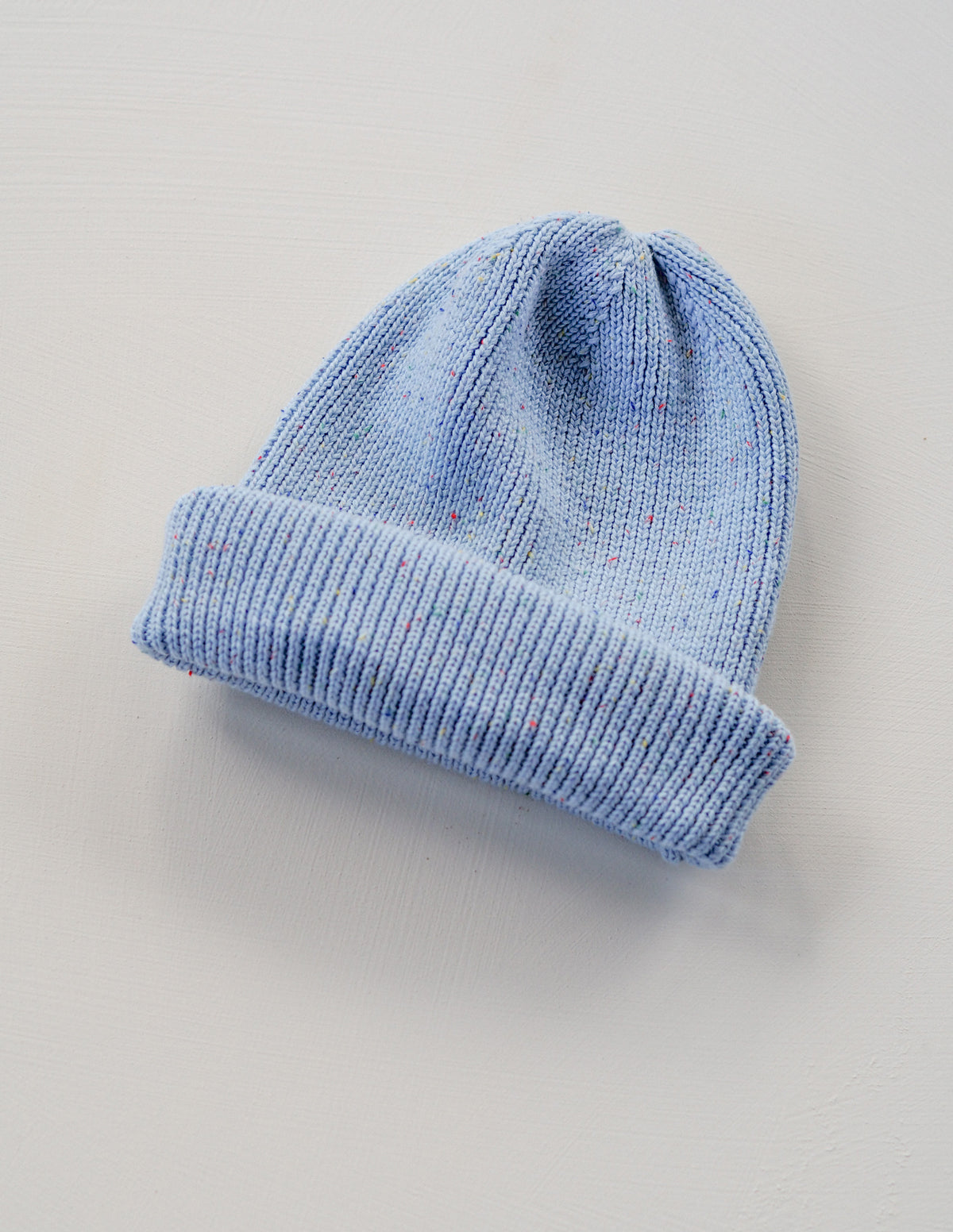 The sky blue sprinkle beanie