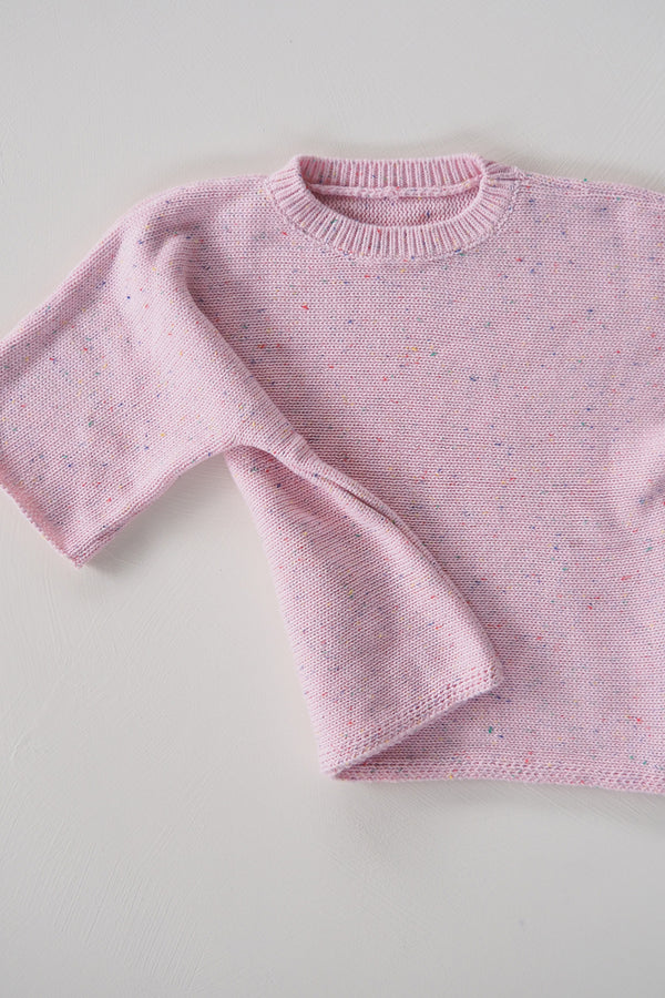 The Pink Sprinkle Knit Tee