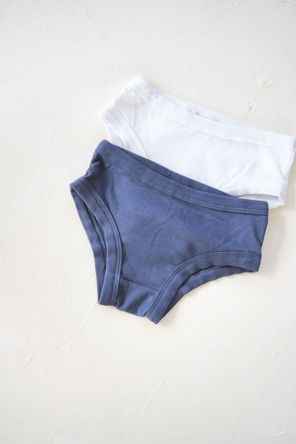 The Ordinary Undie 3 Pack - Blue/White