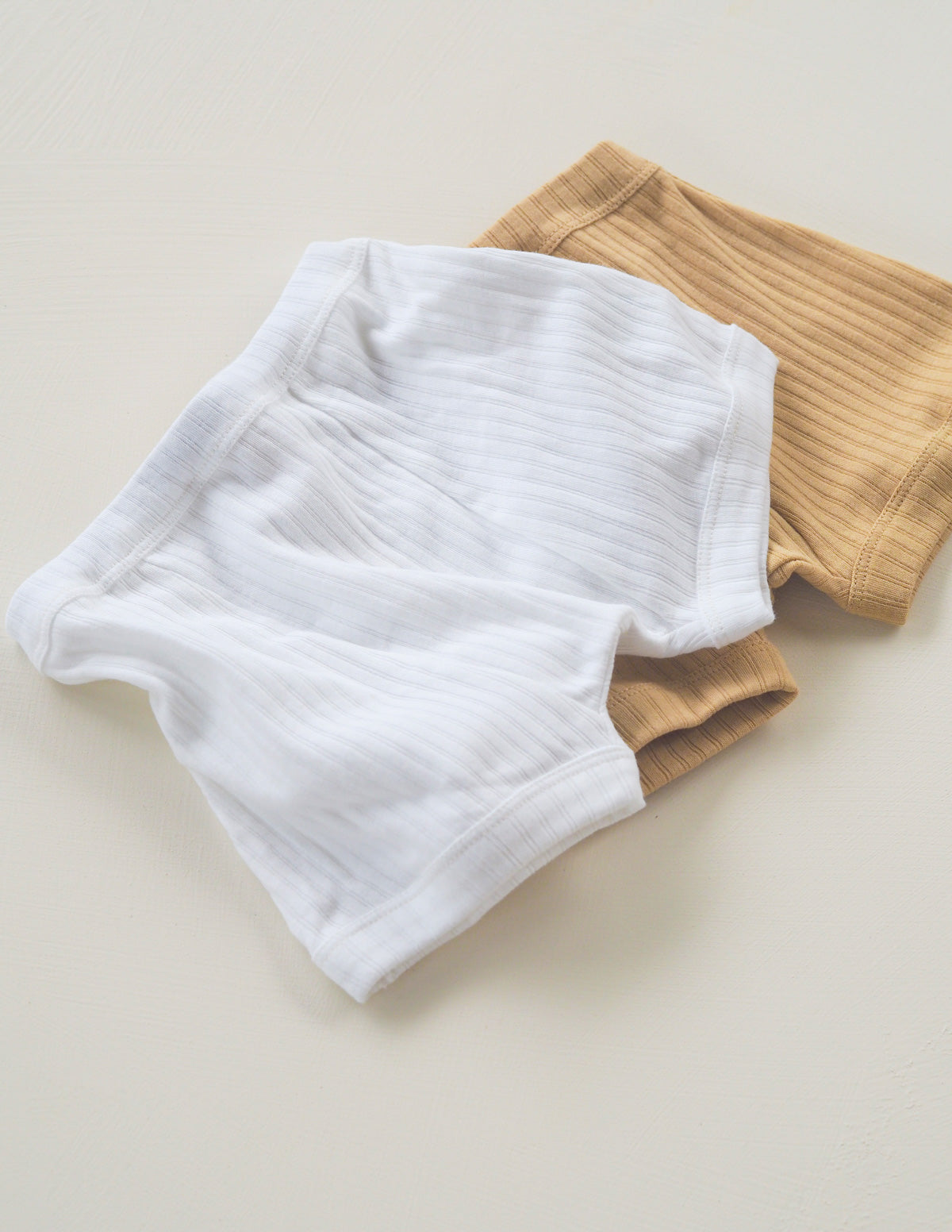 The Easy Boy Short 3 pack - Sand/White