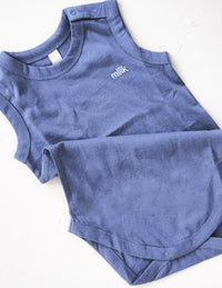 The Original Organic Onesie - blue