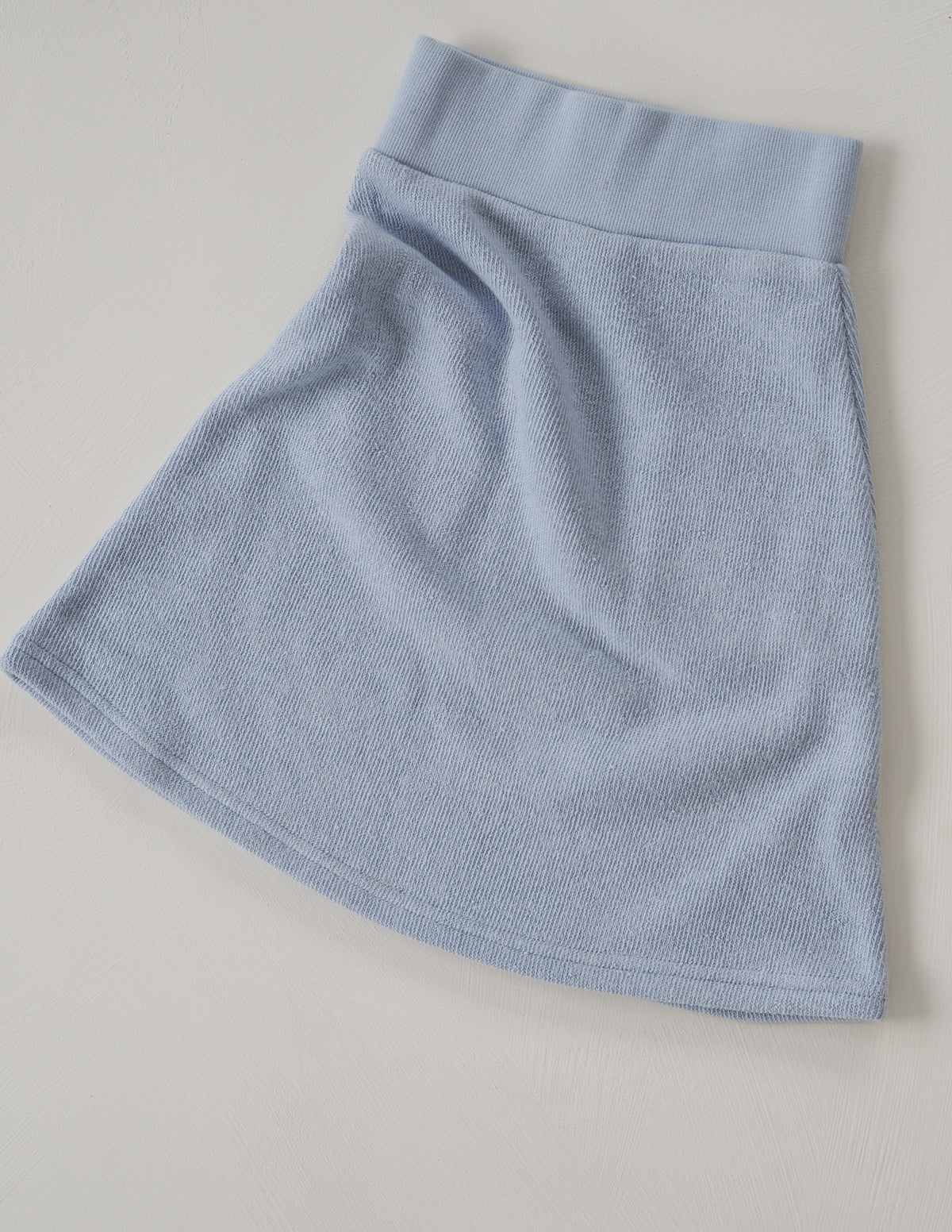 The Comfort Skirt - Powder Blue