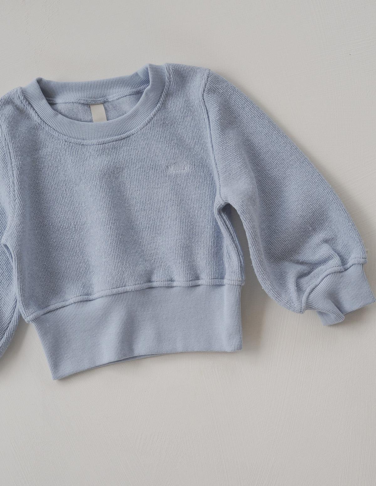 The Comfort Pullover - Powder Blue