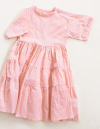 The Simple Organic Dress - Pink