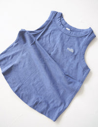 The Original Organic Tank - blue