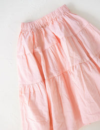 The Simple Organic Skirt - Pink